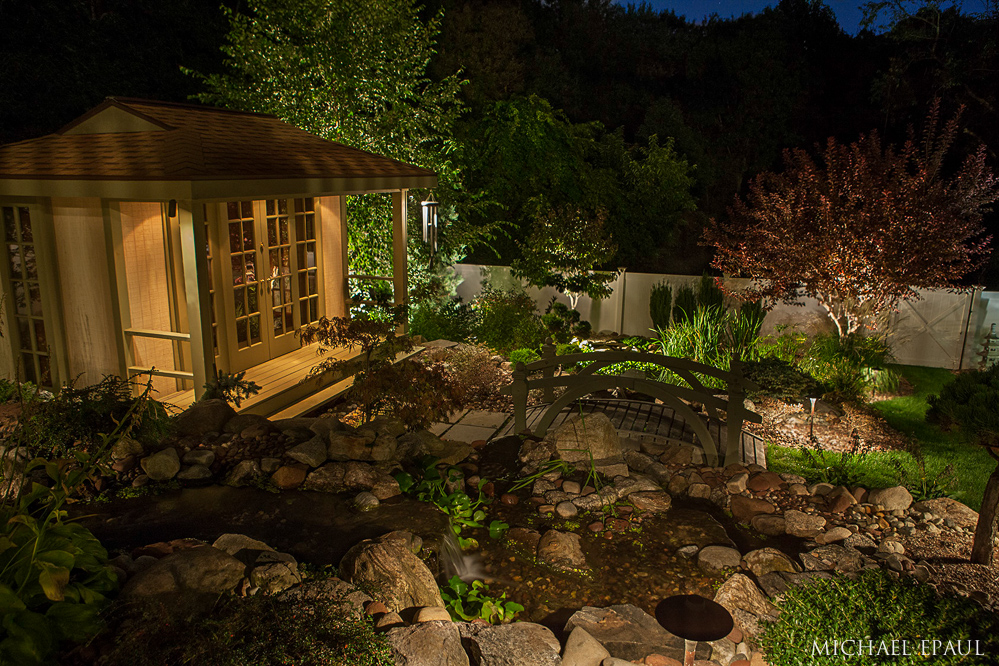 Twin Pines_Zen tea house_water feature