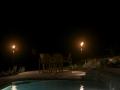 Intimate patio lighting