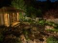 Twin Pines_Zen tea house_water feature